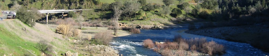 Conflence of the North and Middle Forks of the American River